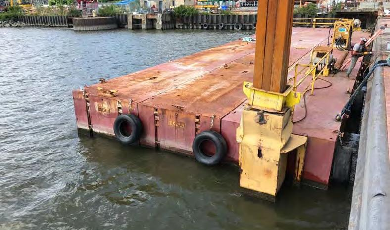 Flexifloat 30x100x7 S70 Barge Sectional Barge full