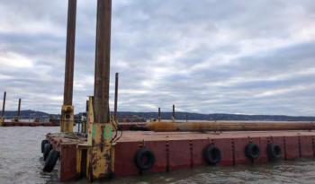 Flexifloat 30x140x7 S70 Barge Sectional Barges full