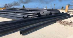 10″ Dredge Pipe SDR17 HDPE Dredging [70 Available]