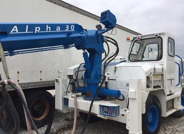 2013 Normet Alpha 30 Concrete Sprayer full