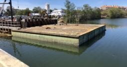 Shugart 40'x10'x5′ Sectional Barges [8 Available]