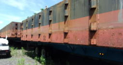 45'x15'x6′ Sectional Barges